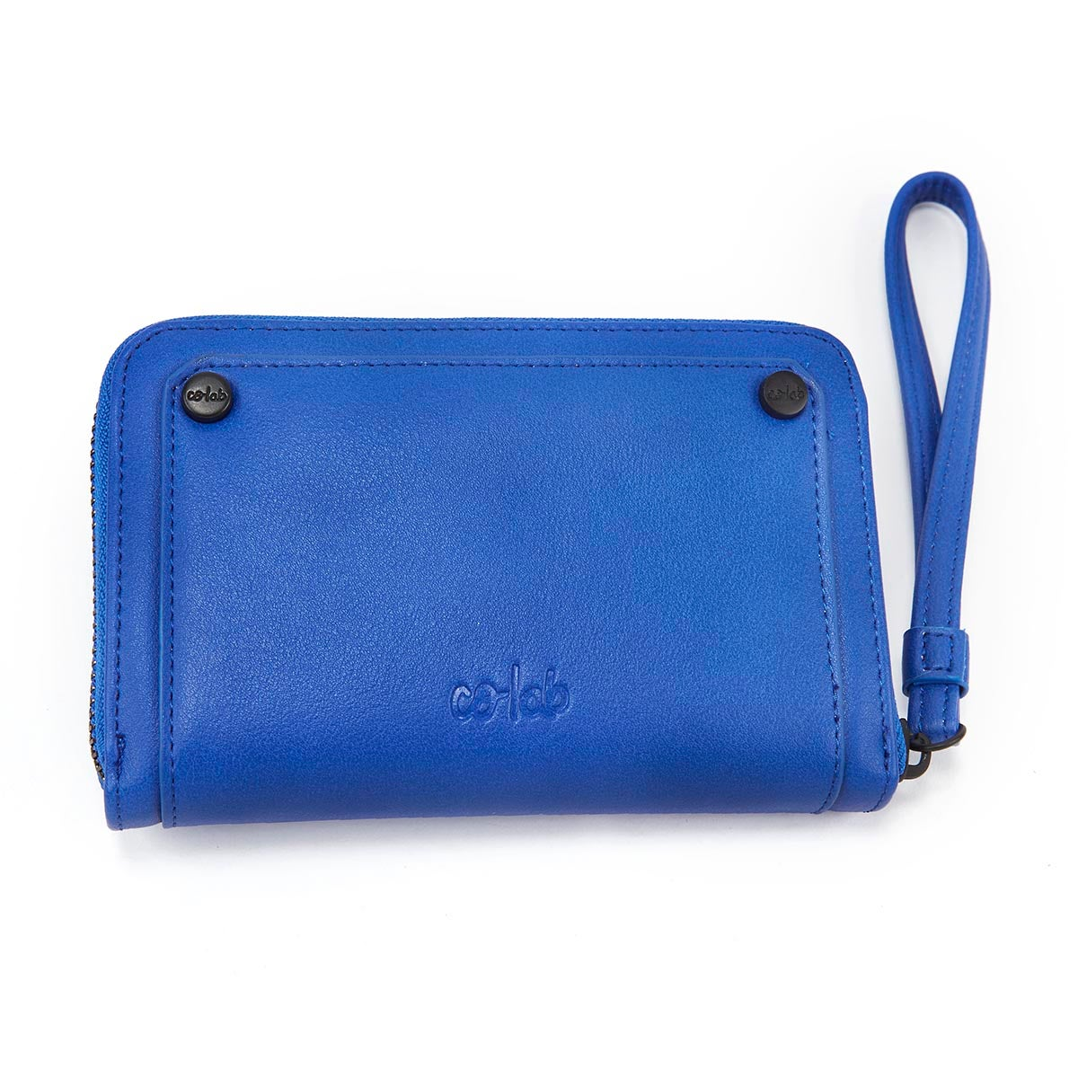 Lds cobalt zip up mini wallet