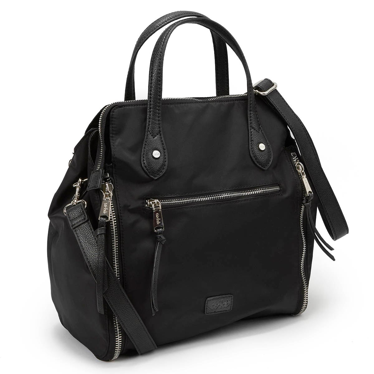 Ld Wear Everywhere blk crossbody satchel