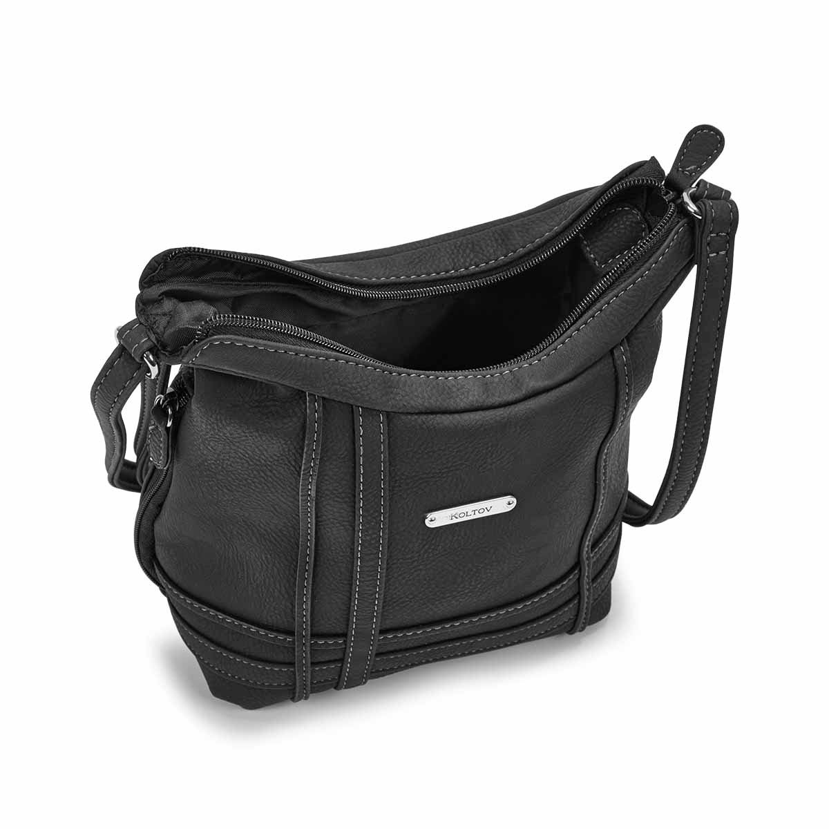 Lds Georgia Mini black cross body bag