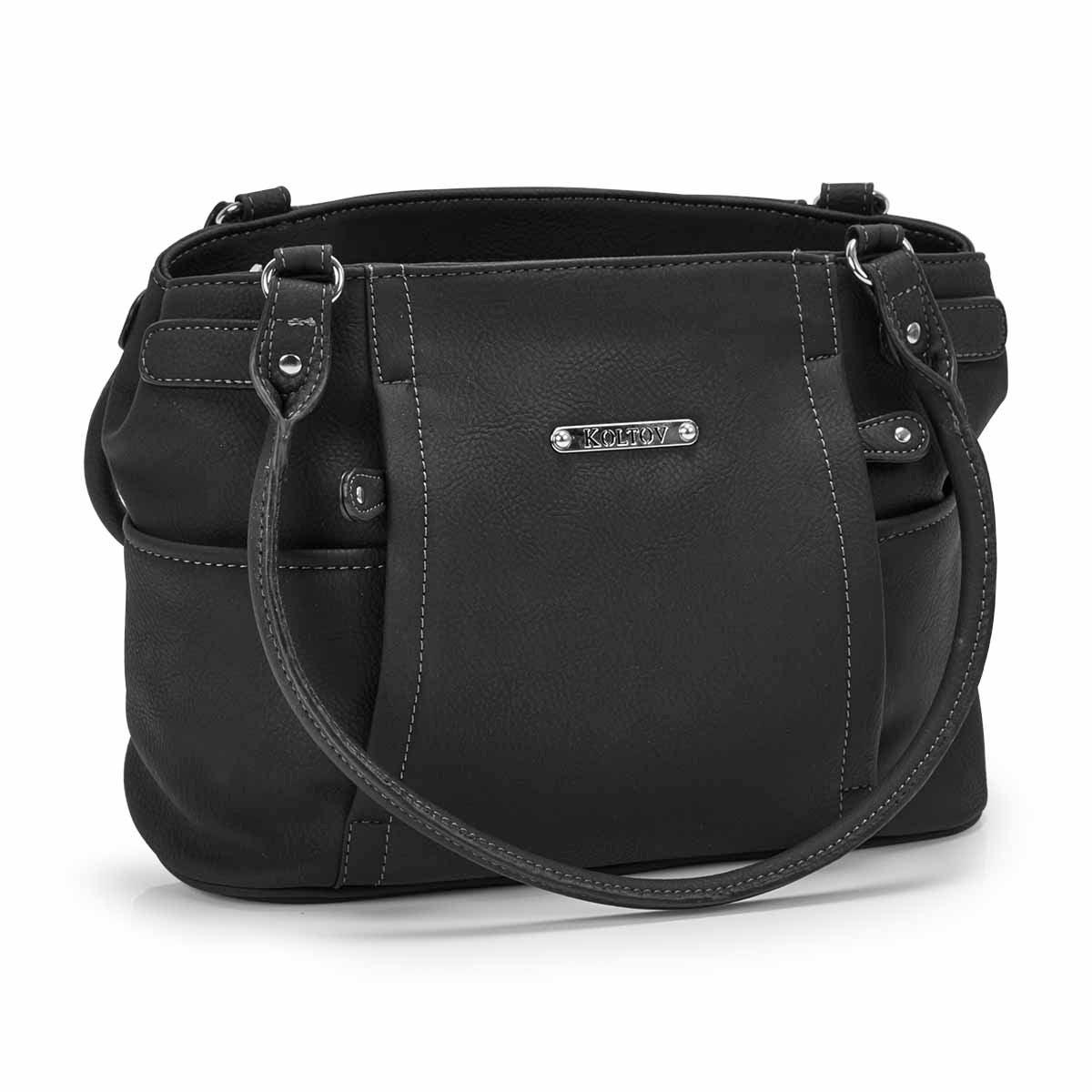 Women's STRATHMORE black small shoulder bag