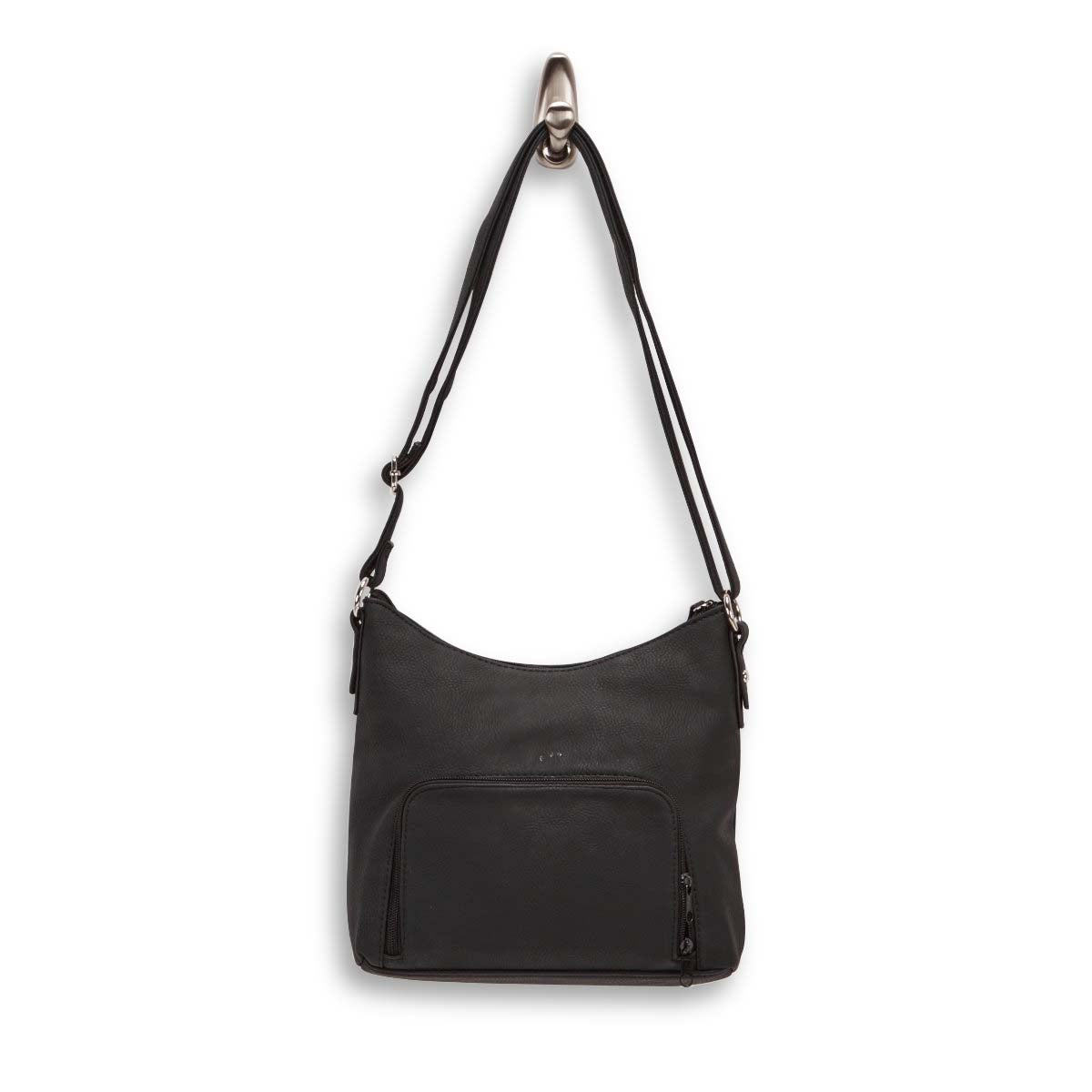 Lds Rhoda black shoulder bag