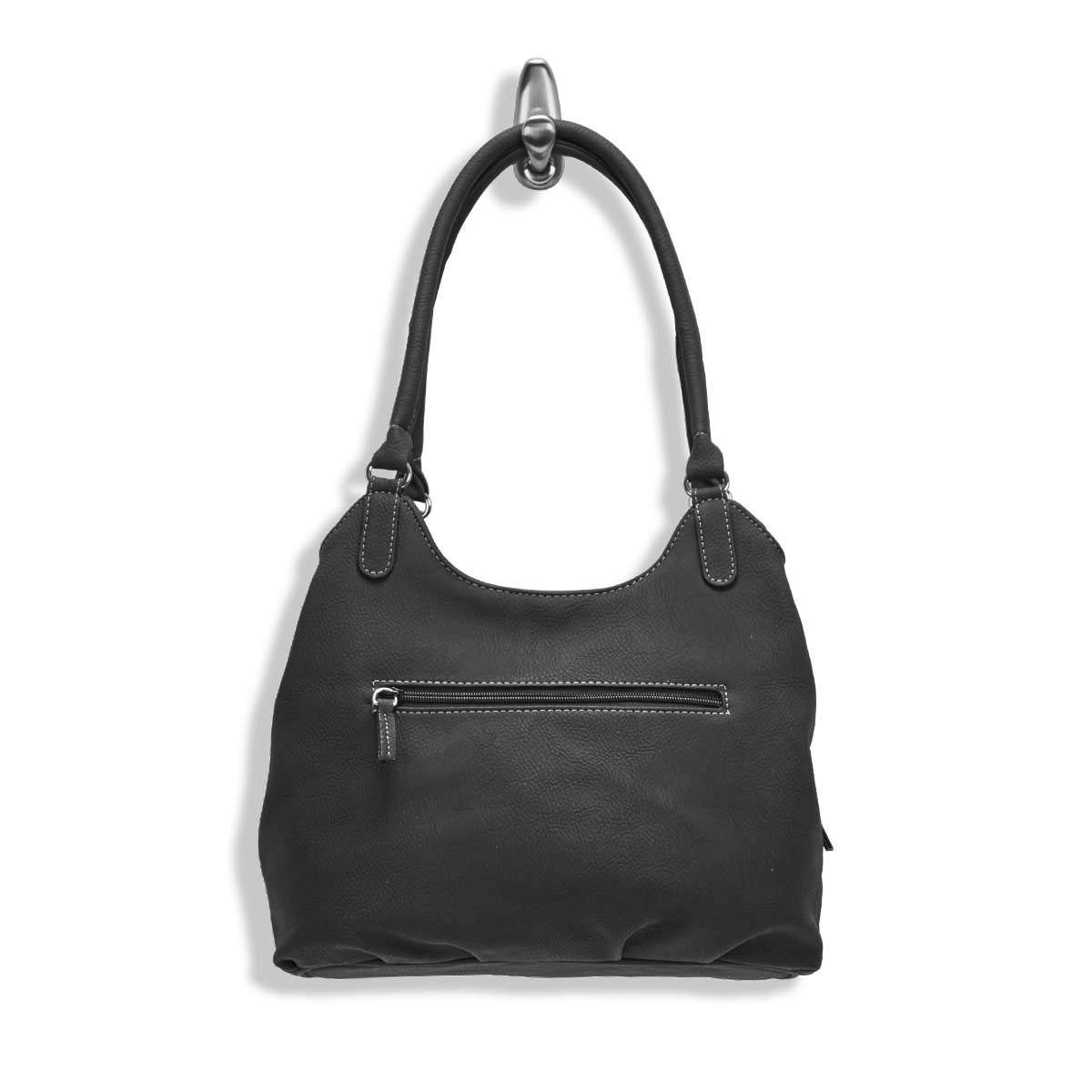 Lds Sydney black hobo bag