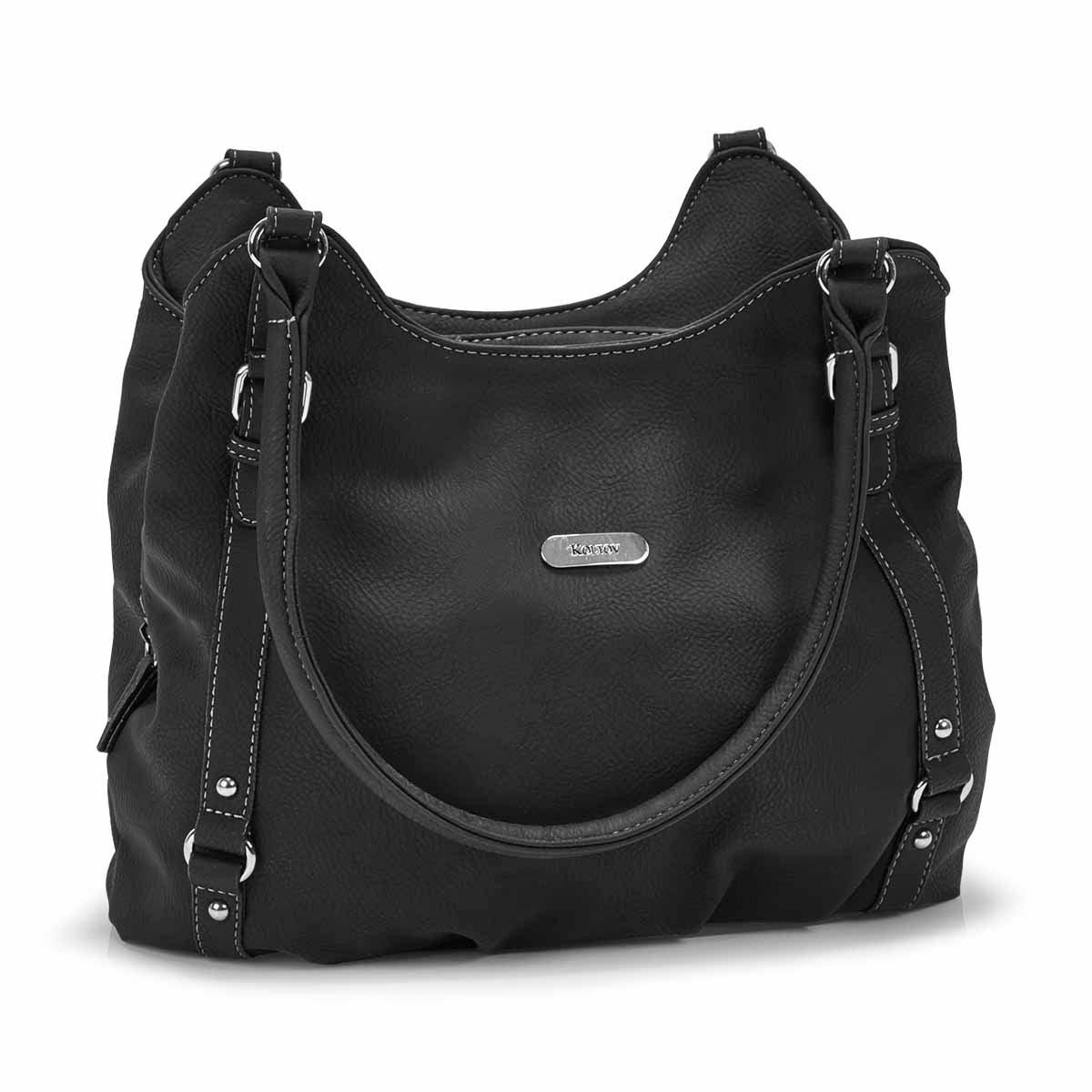 Lds Sydney black hobo bag