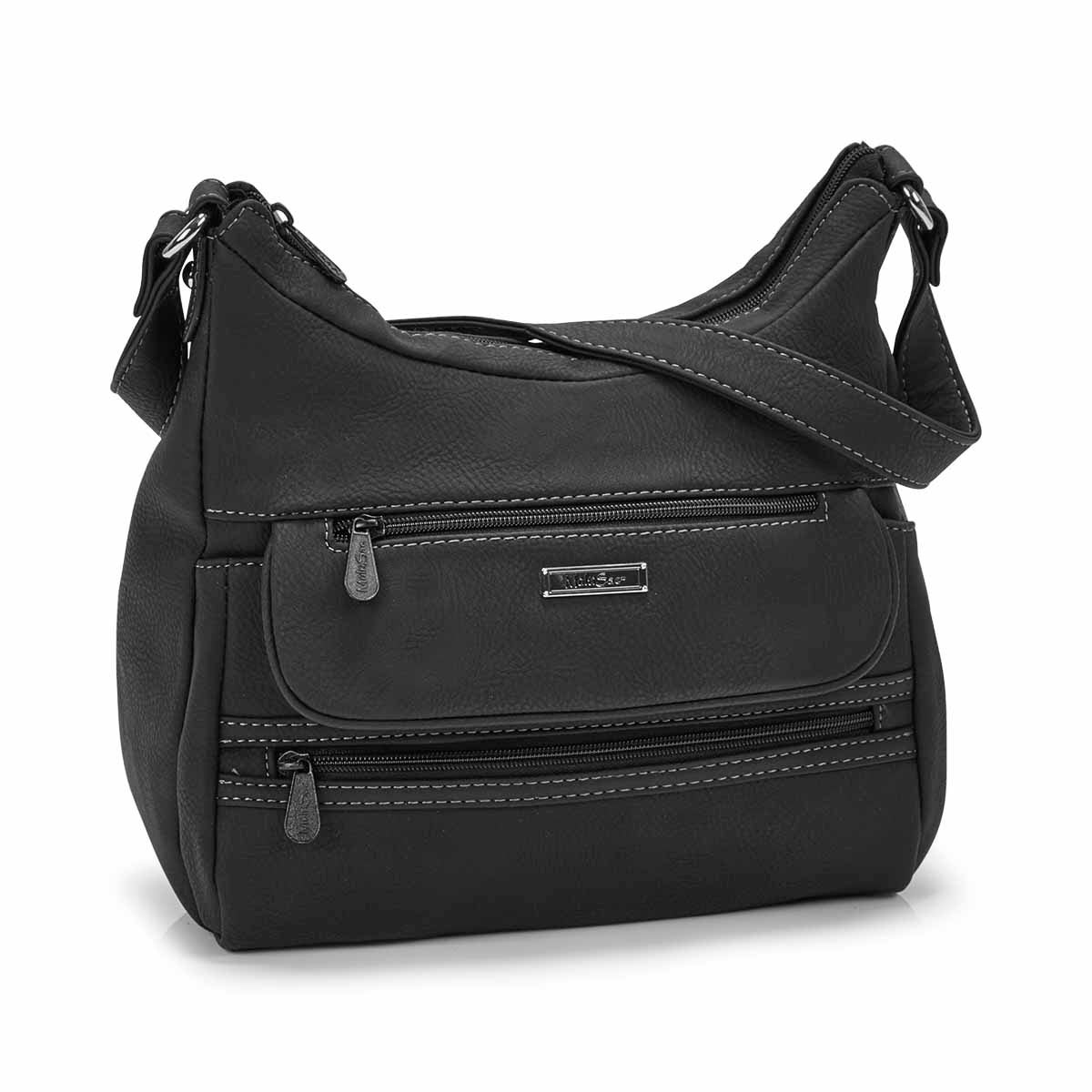 Women's ELEMENT black hobo bag