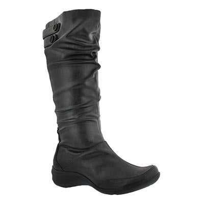 Hush Puppies Women's MILIEU black high boots