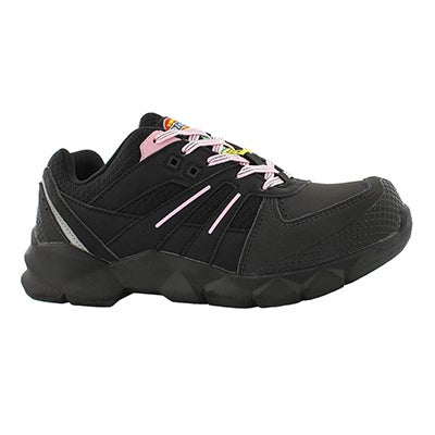 Lds Rook & Rook blk/pnk lace up CSA shoe