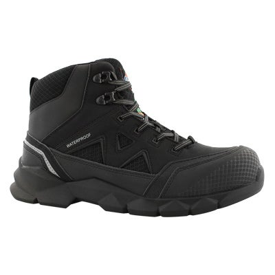 Lds Avis black lace up wtpf CSA boot