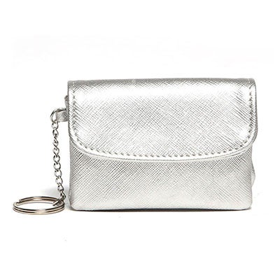 Co-Lab Women's 507 silver mini coin purse