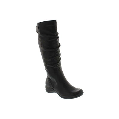 Hush Puppies Women's ALTERNATIVE 18BT blk tall waterproof boots