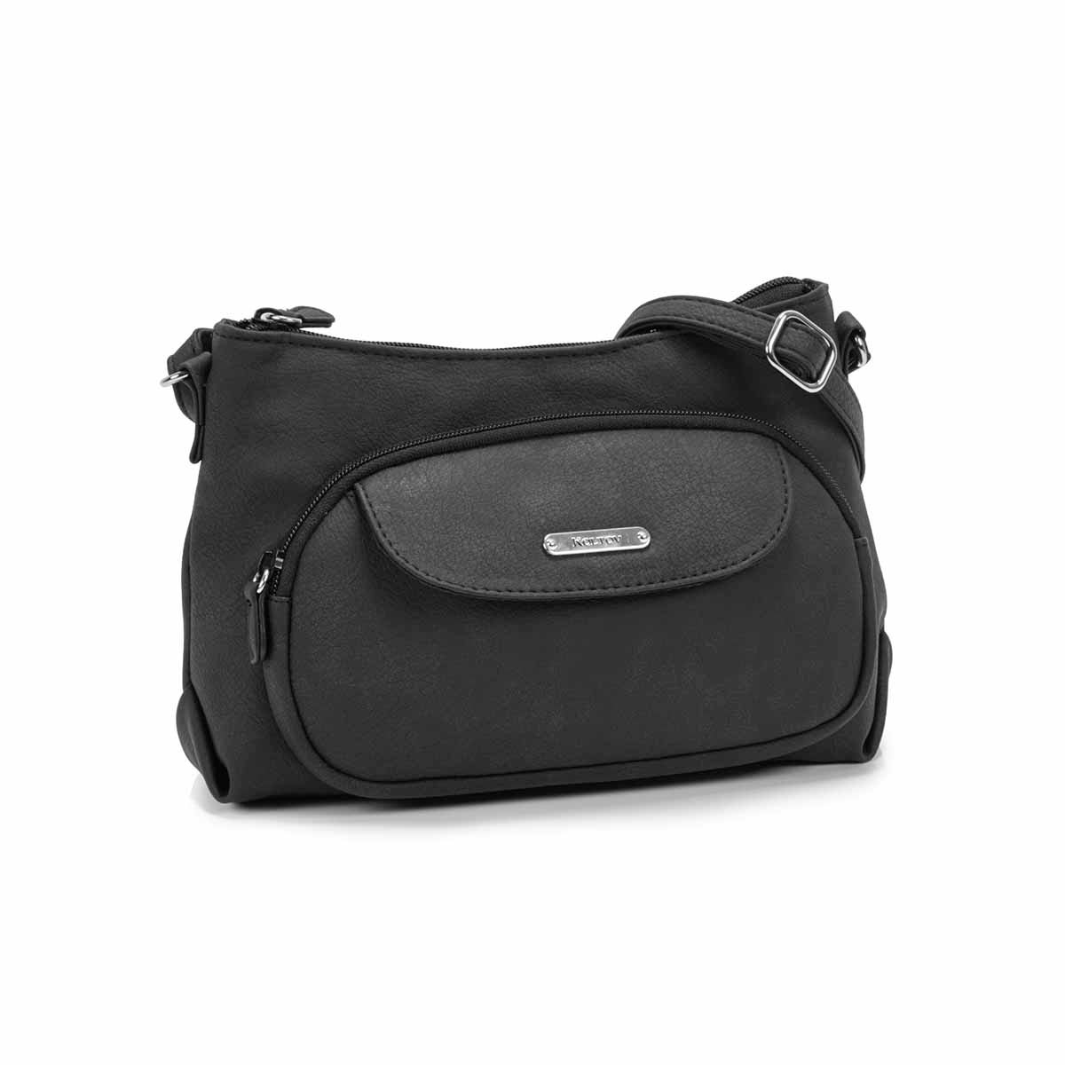Women's GRACE black mini crossbody bag