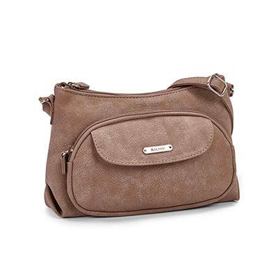 Lds Grace tpe top zip mini crossbody bag
