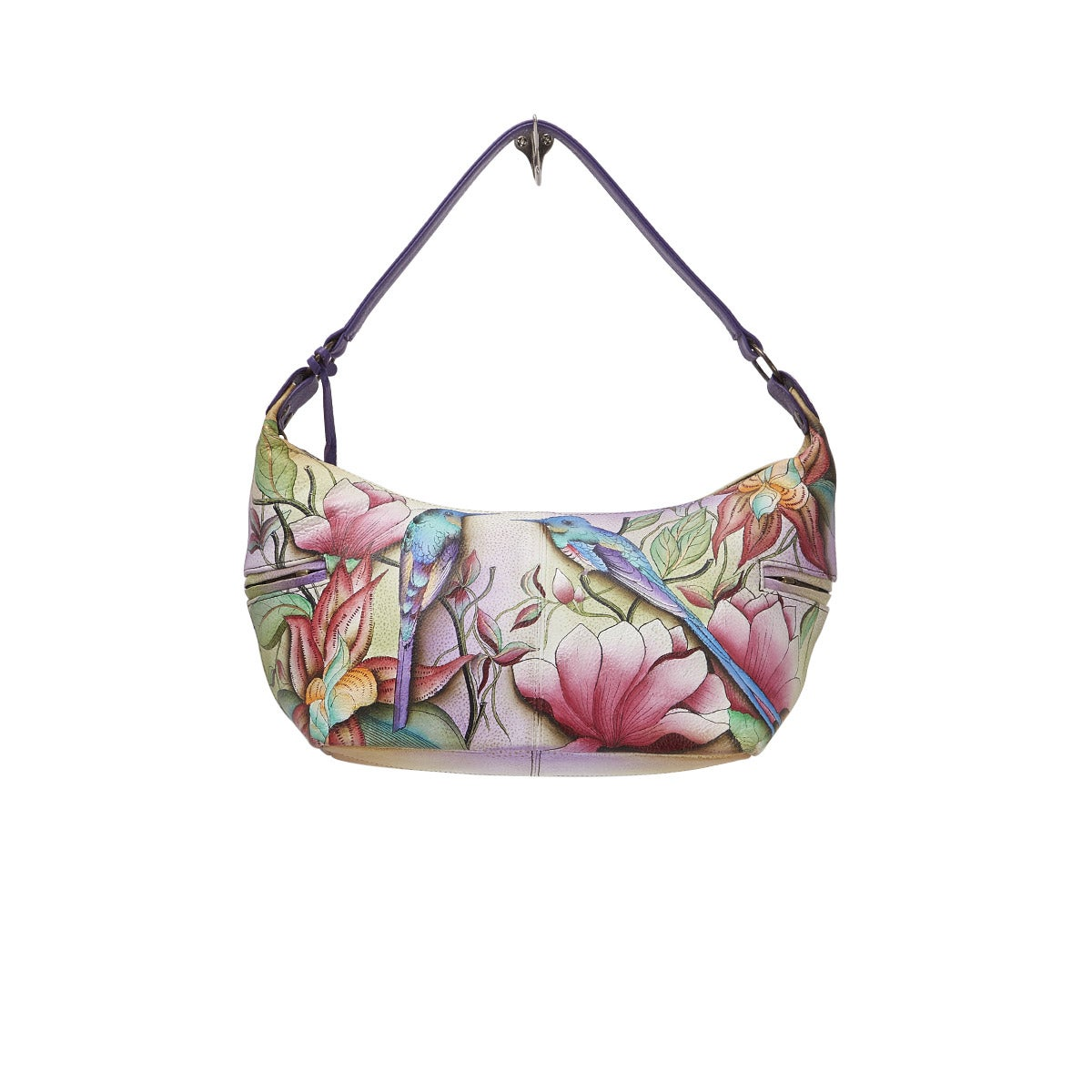 Sac besace Spring Passion, cuir multi
