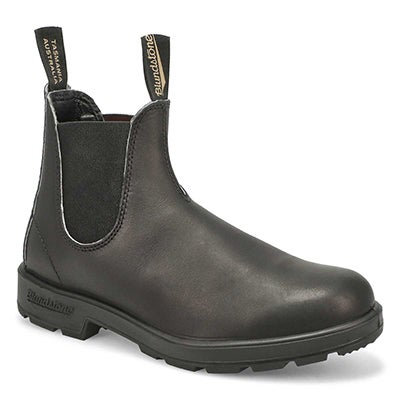 Blundstone Unisex THE ORIGINAL black pull-on boots -UK SIZING