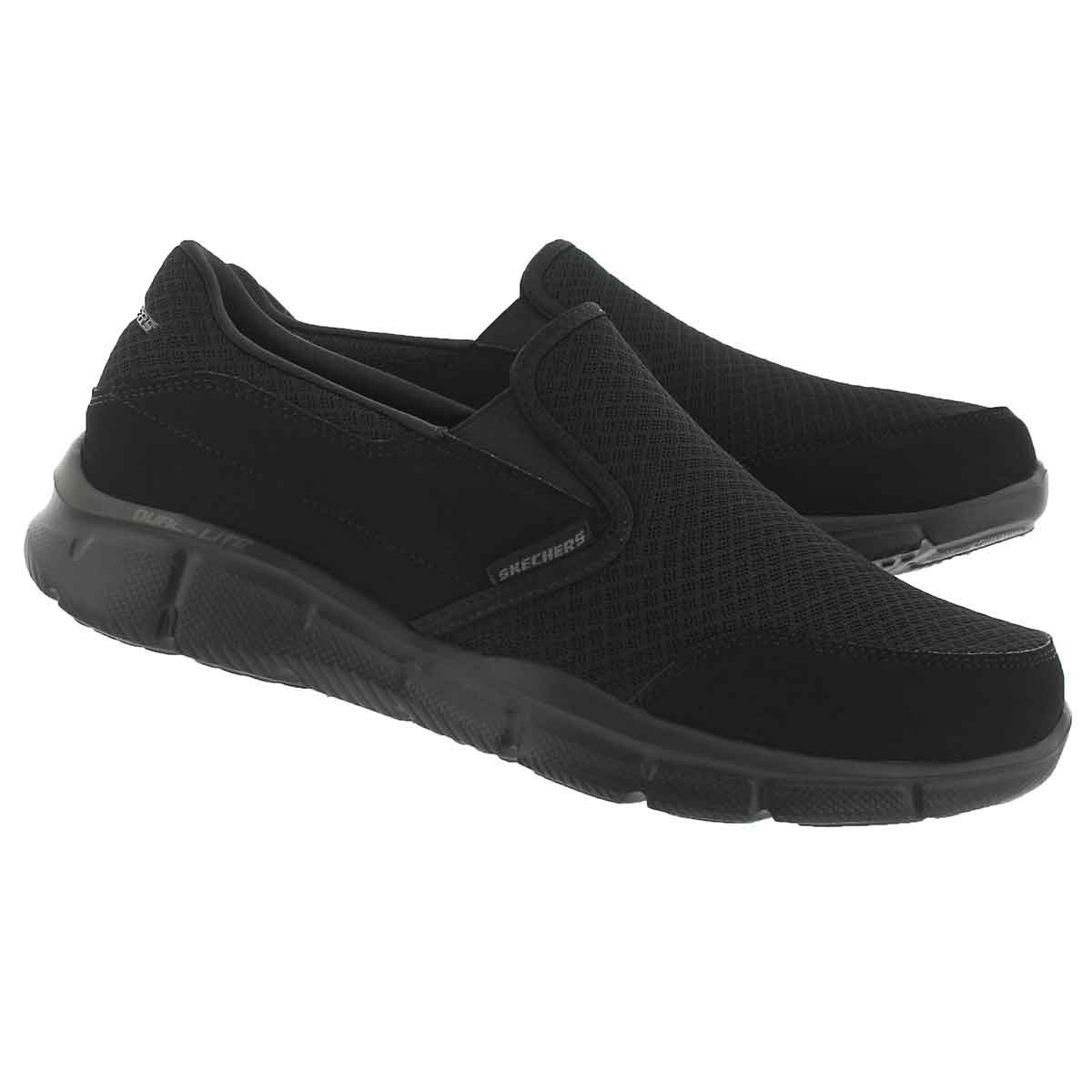 Mns Persistent black slip on sneaker