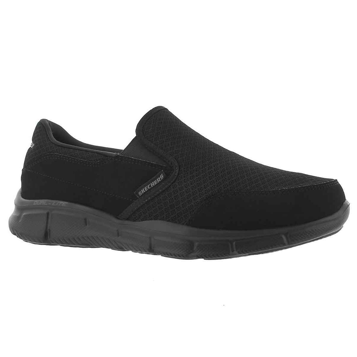 Men's PERSISTANT black slip on sneakers
