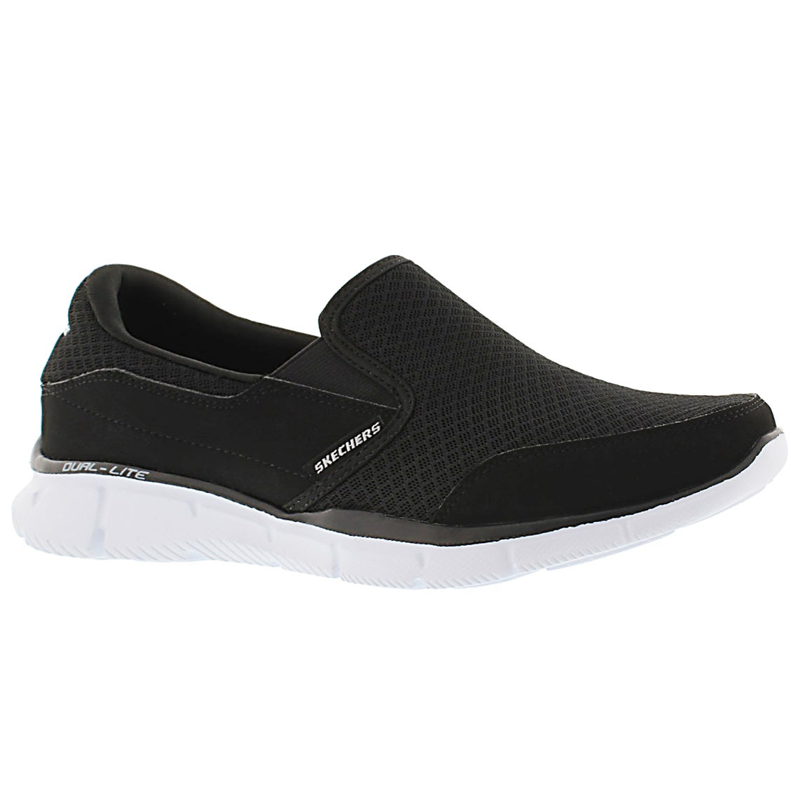 Men's PERSISTENT black/white slip on sneakers