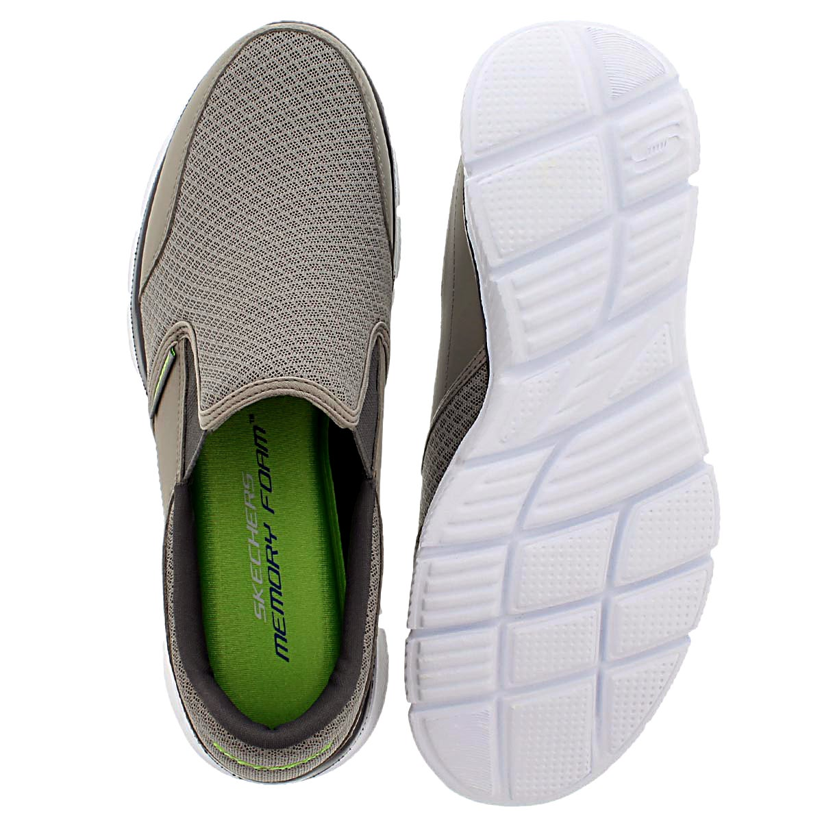 Mns Persistent grey slip on sneaker