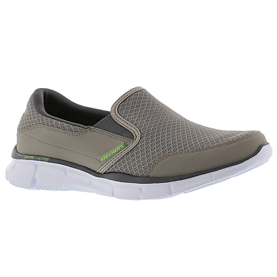 Men's PERSISTENT grey slip on sneakers