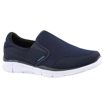 Skechers Men's PERSISTENT navy slip on sneakers