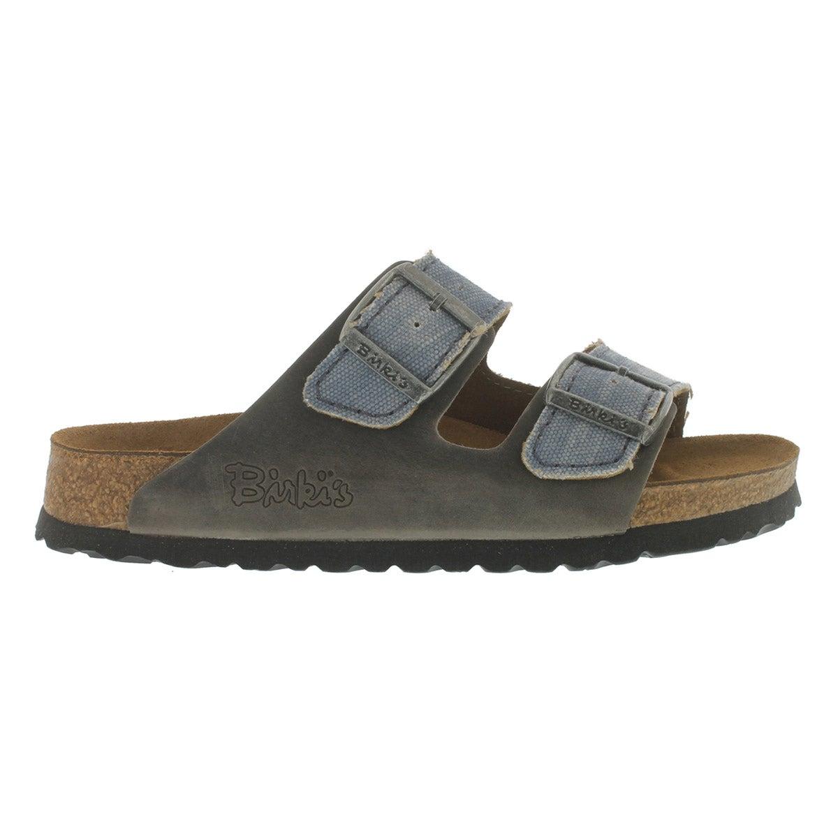 Mns Arizona tie dye grey 2 strap sandal