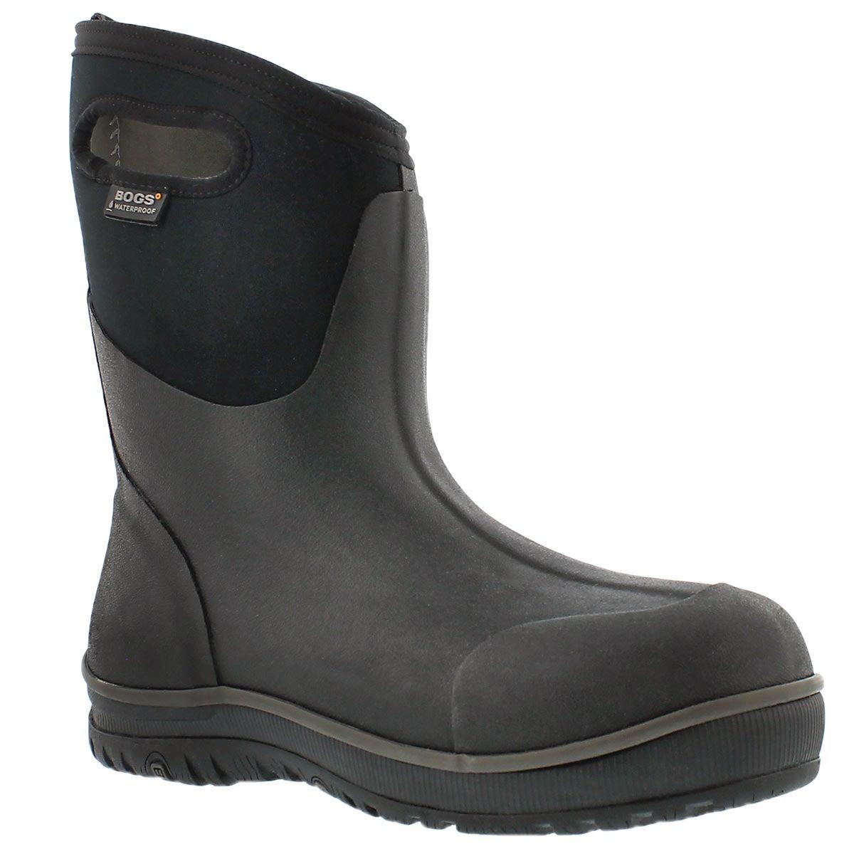 Men's ULTRA MID black waterproof boots