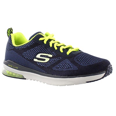 Skechers Men's SKECH-AIR INFINITY navy running shoes