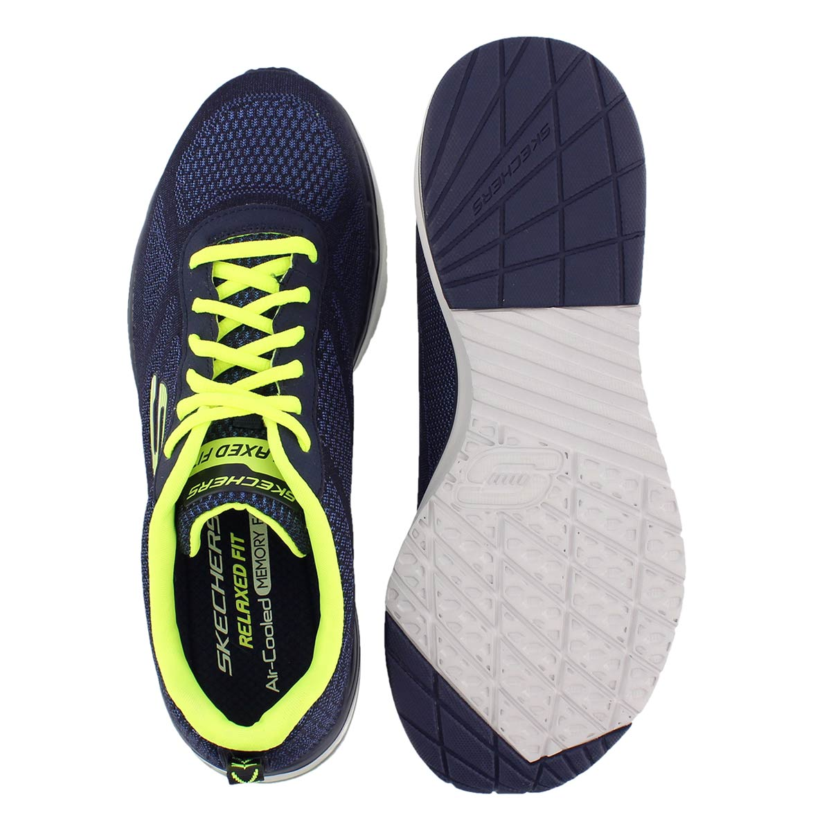 Mns Skech-Air Infinity nvy running shoe