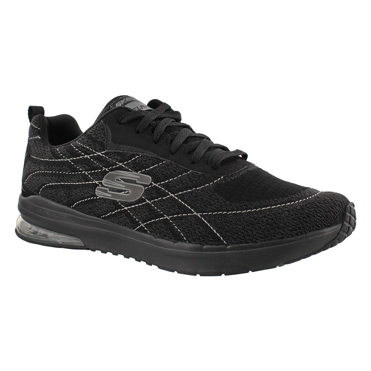 Men's SKECH-AIR INFINITY black sneakers