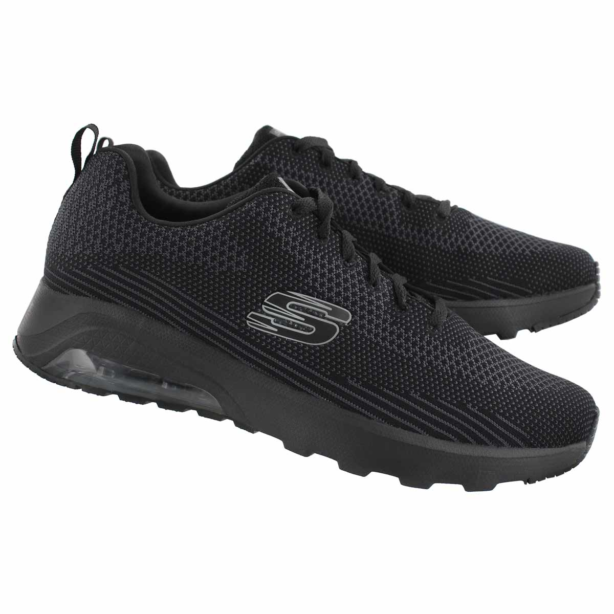 Mns Skech-Air Extreme blk lace up snkr