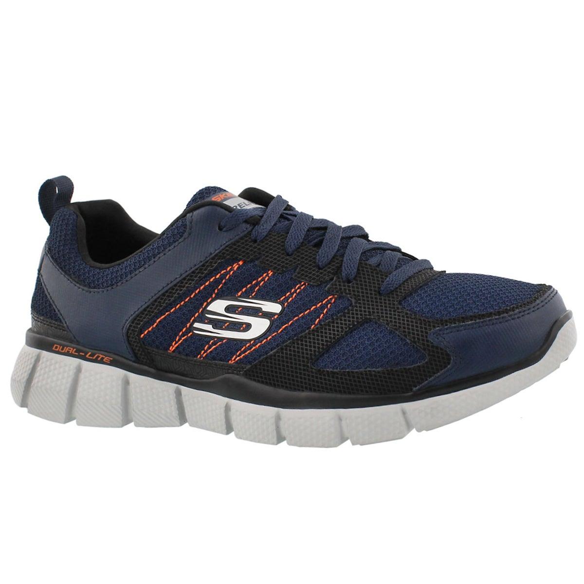 Men's EQUALIZER 2.0 ON TRACK navy/orange sneakers