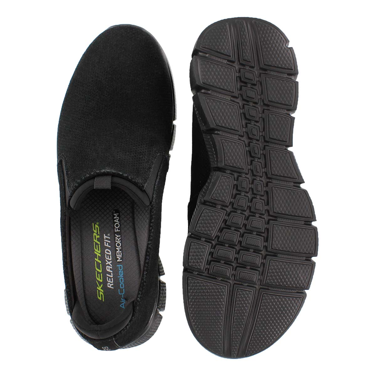 Mns Equalize 2.0 black slip on shoe