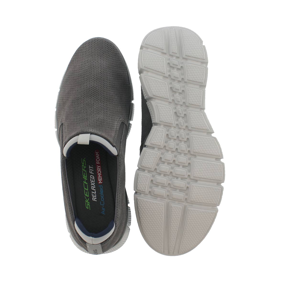 Mns Equalize 2.0 charcoal slip on shoe