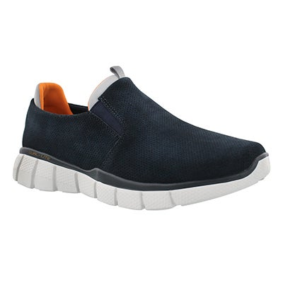 Mns Equalize 2.0 navy slip on shoe