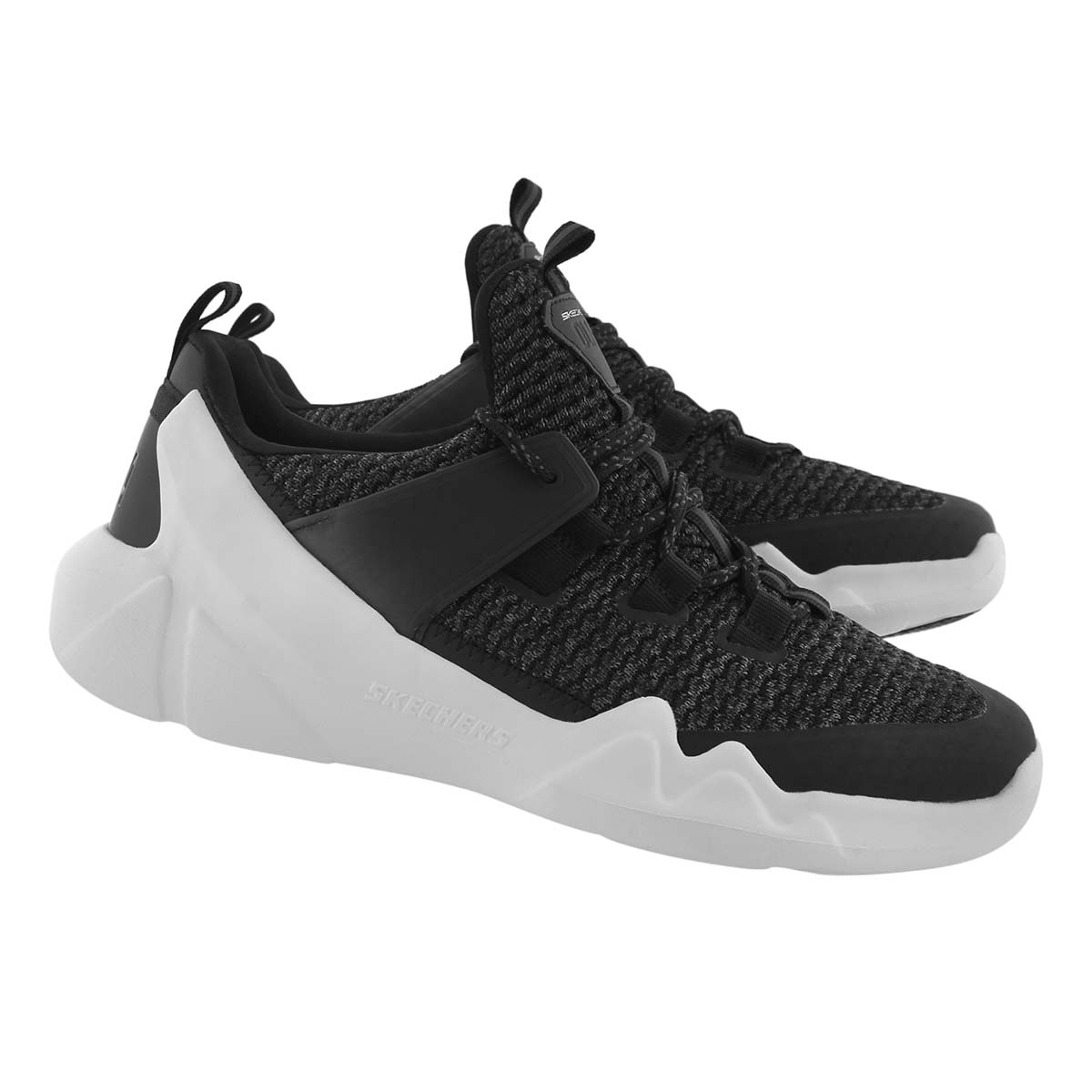 Mns DLT-A blk lace up running shoe