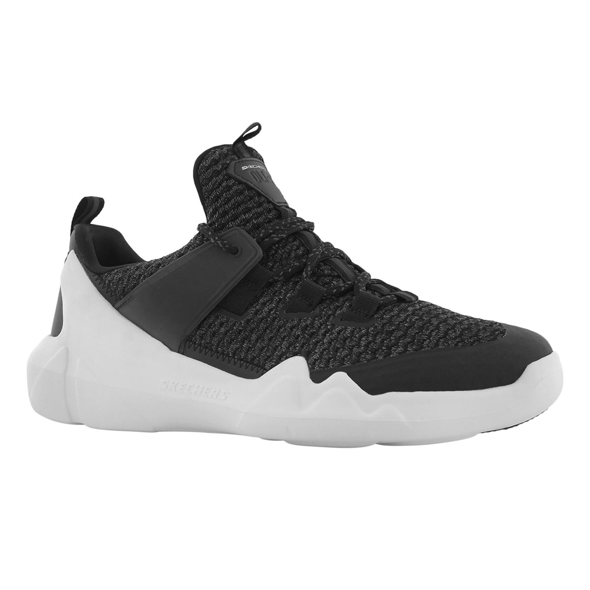 Men's DLT-A black lace up running shoes