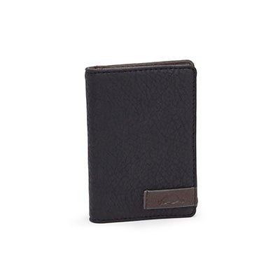 Mns Tracker black/charcoal billfold