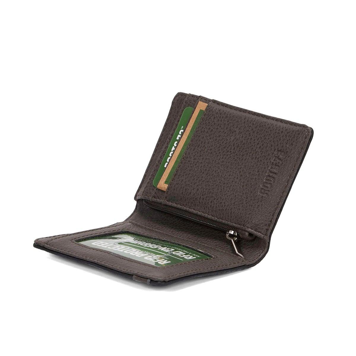 Portefeuille Tracker, noir/anthrac, hom