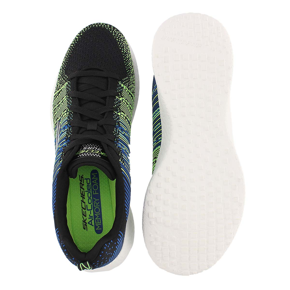 Mns Burst-In The Mix blk running shoe