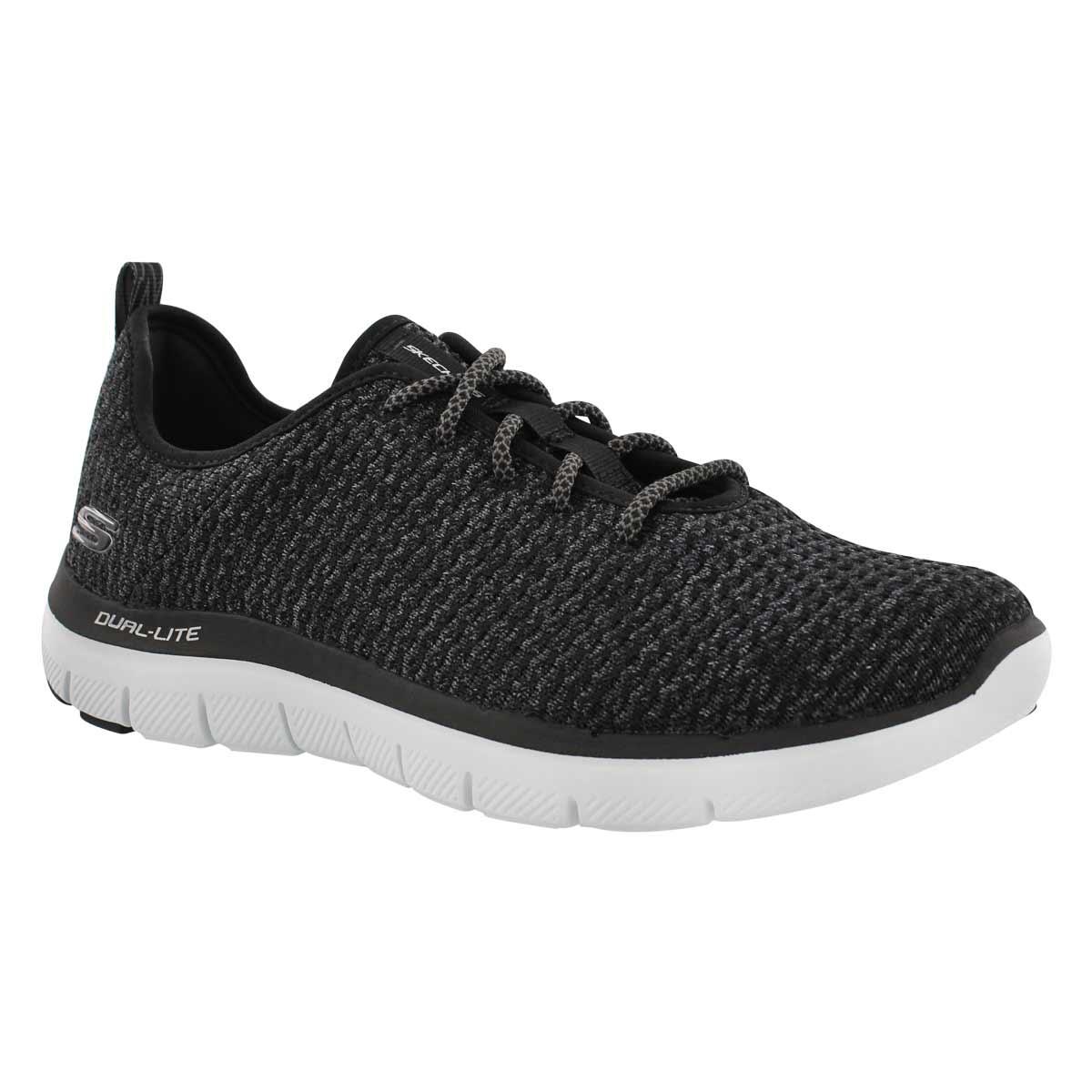 Men's FLEX ADVANTAGE 2.0 CRAVY black sneakers