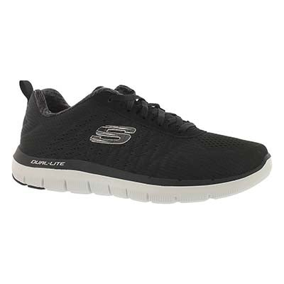 Skechers Men's FLEX ADVANTAGE 2.0 THE HAPPS blk/wht runners