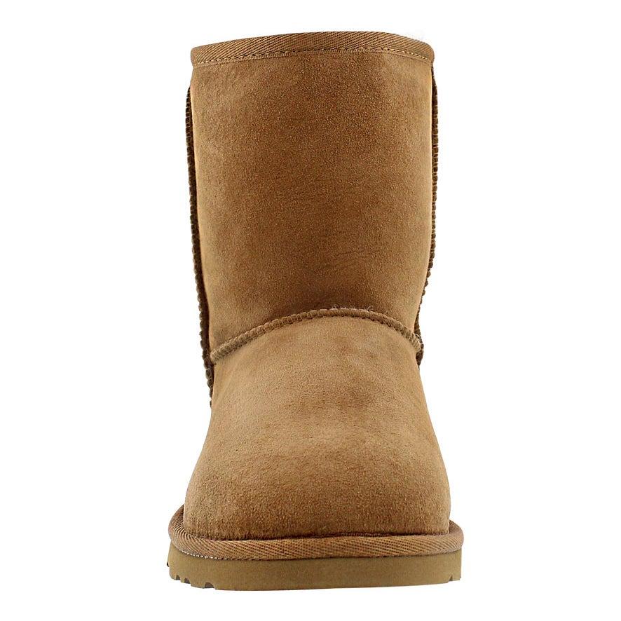 Grls Classic Short chest sheepskin boot