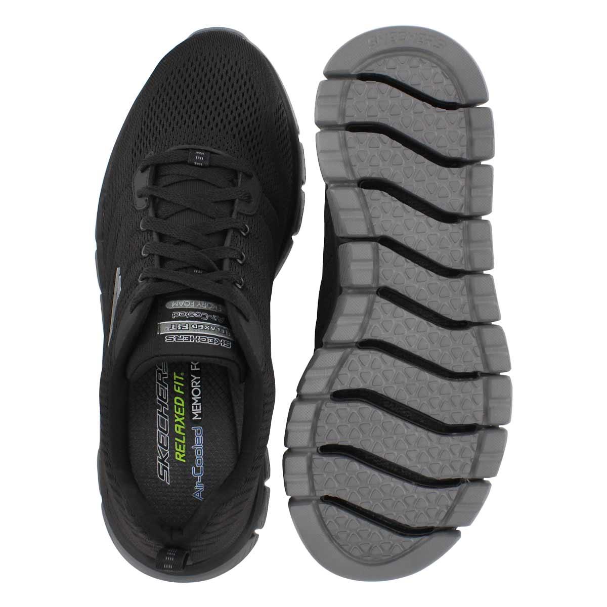Mns Skech-Flex 2.0 Milwee blk sneaker
