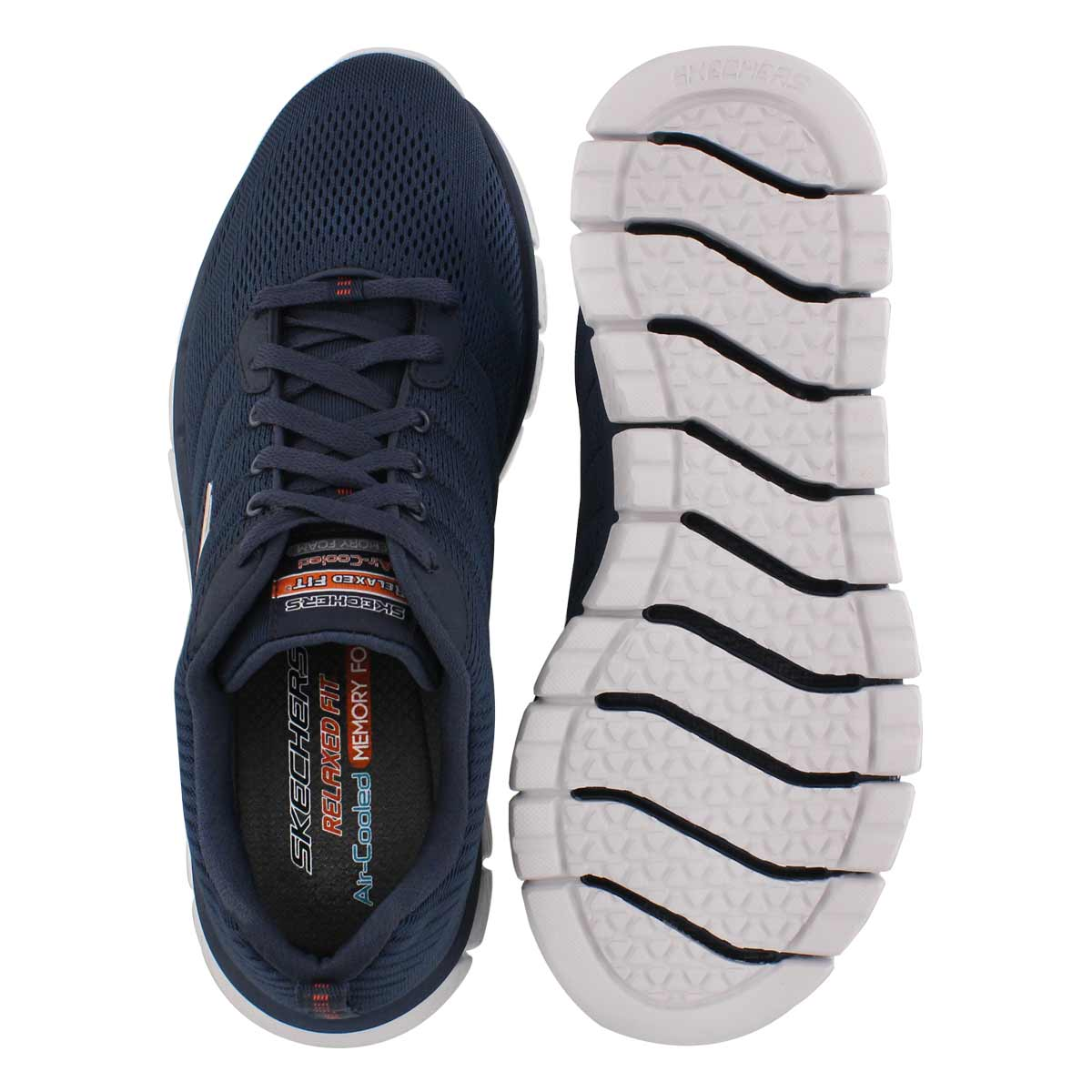 Mns Skech-Flex 2.0 Milwee navy sneaker