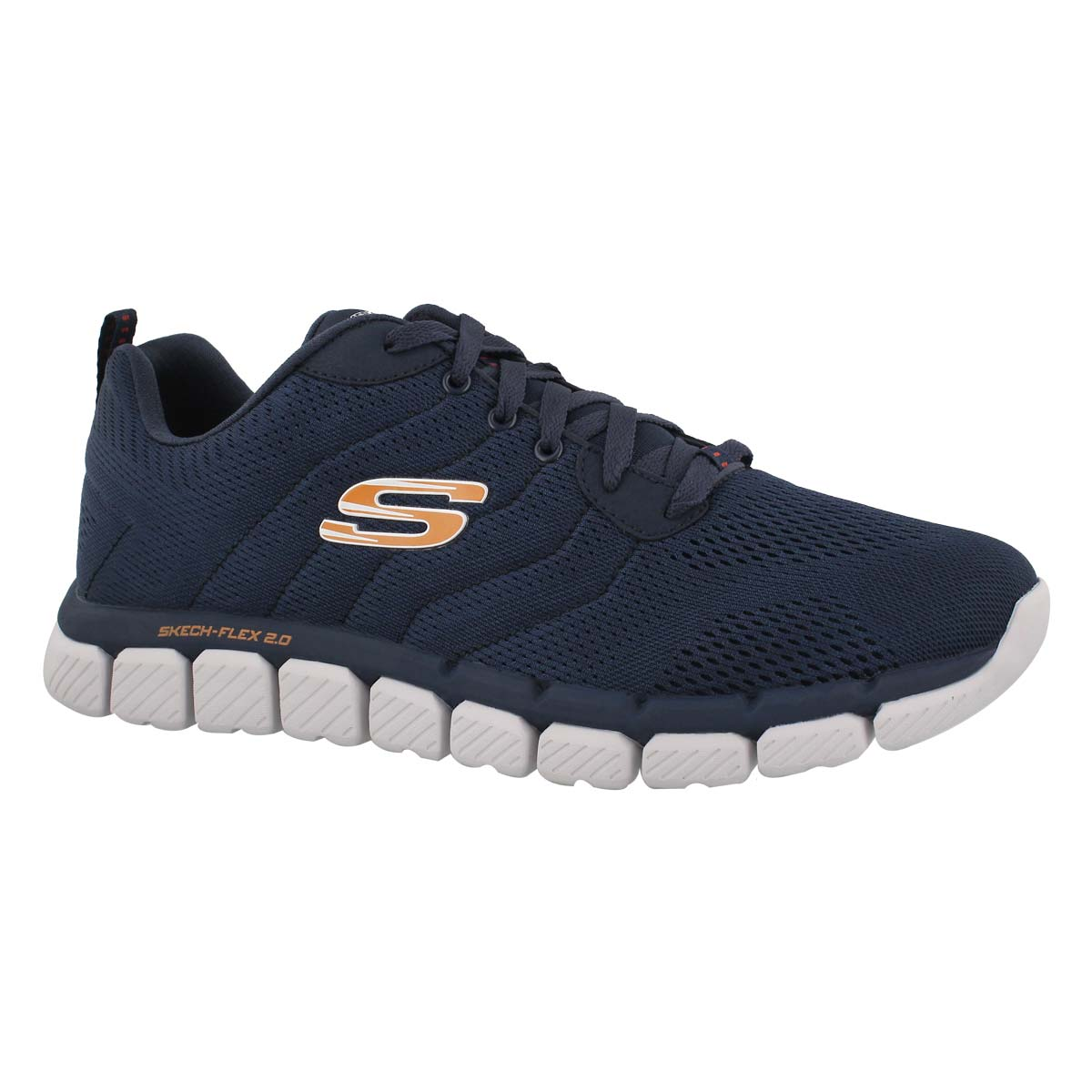 Men's SKECH-FLEX 2.0 MILWEE navy sneakers