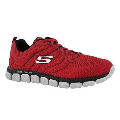 Mns Skech-Flex 2.0 Milwee red/bk sneaker