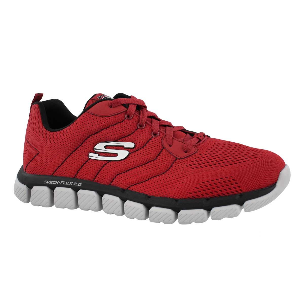 Men's SKECH-FLEX 2.0 MILWEE red/black sneakers