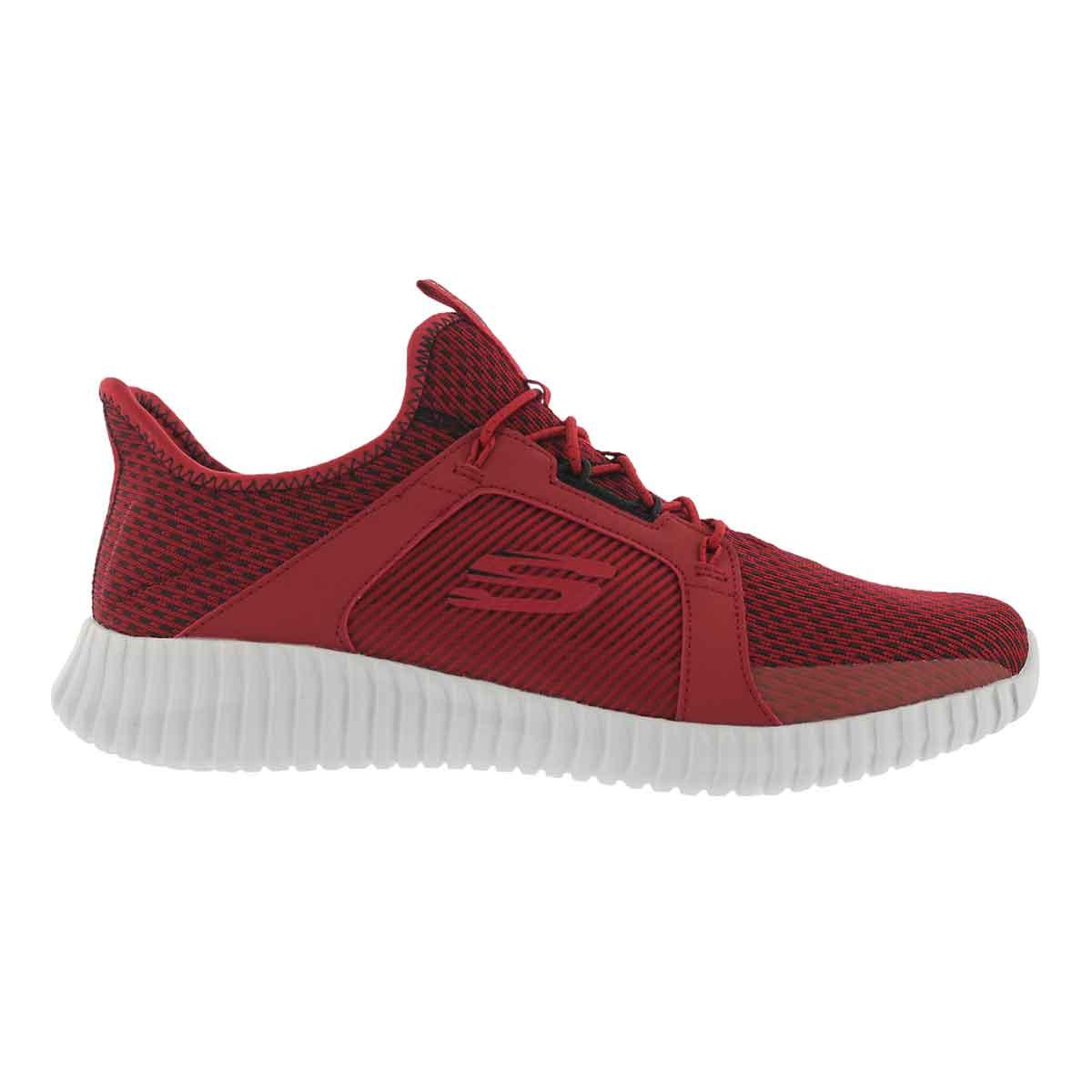 Mns Elite Flex red/blk slip on sneaker
