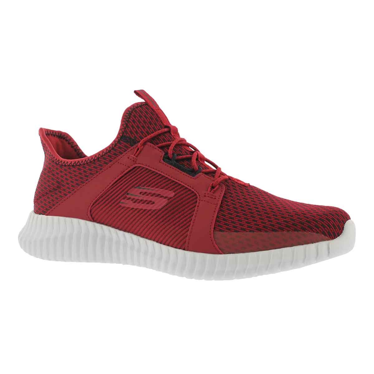 Men's ELITE FLEX red/black slip on sneakers