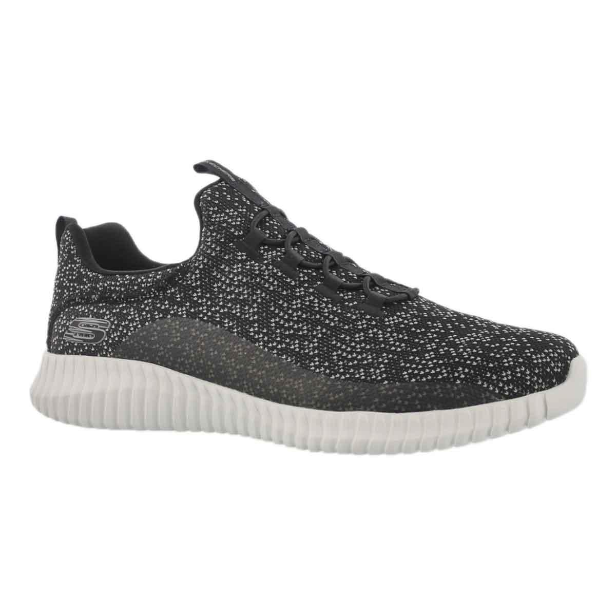 Men's ELTIE FLEX MUZZIN black slip on sneakers