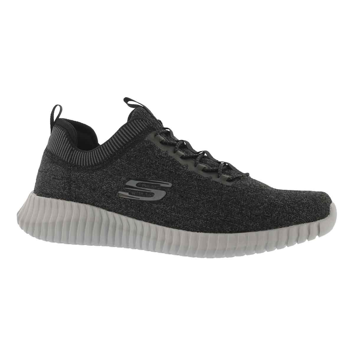 Men's ELITE FLEX HARTNELL bk/gy slip on sneakers